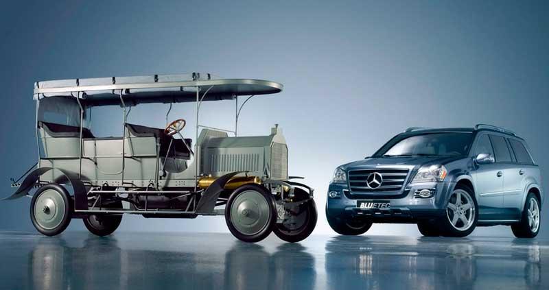 El Dernburg Wagen se convirtió en uno de los automóviles emblemáticos de la marca Daimler.