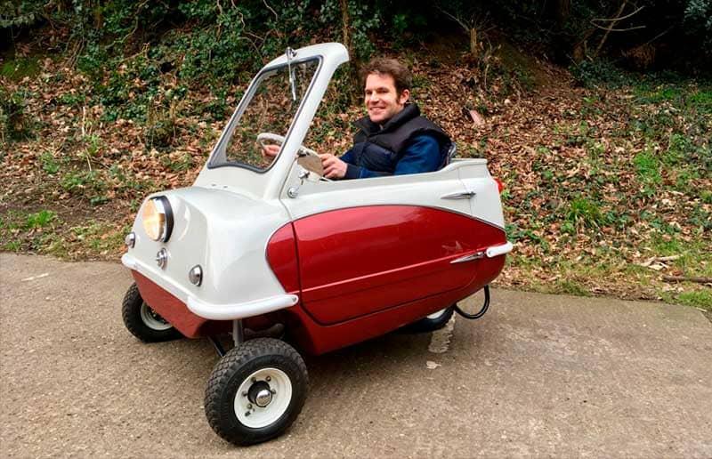 Peel P50 es el coche mas pequeño del mundo