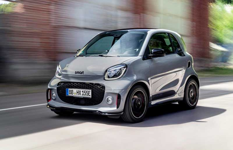 Coches pequeños Smart ForFour