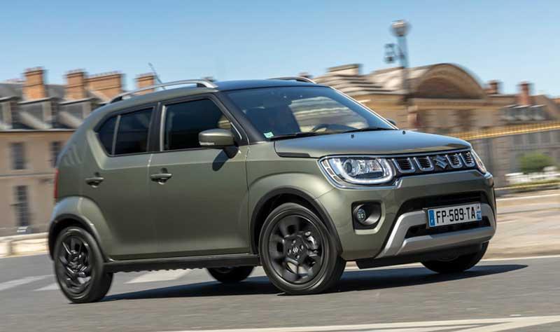 Suzuki Ignis cuenta con un tamaño compacto y funcional.