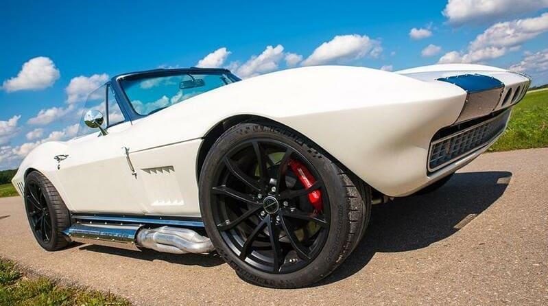 El mejor coche corvette de españa
