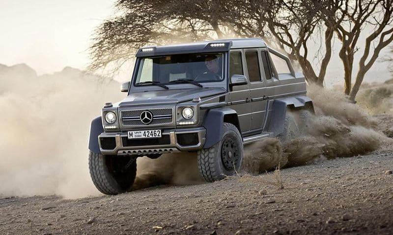 Coches Mercedes Benz todo terreno para un viaje sin límites