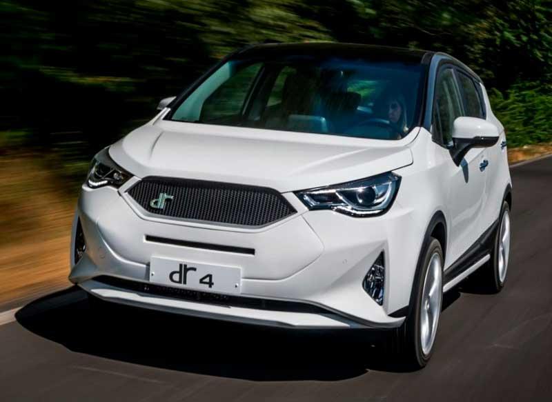 Dr Automobiles, coches de segunda DR 4, se posiciona en el mismo segmento que el Seat Ateca